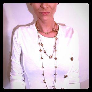Two (set) versatile layering necklaces